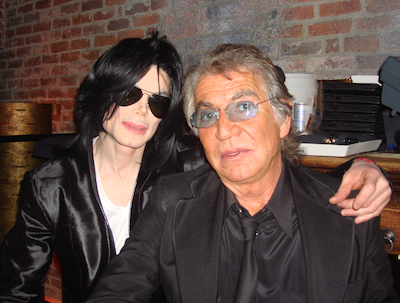 Roberto Cavalli with Michael Jackson