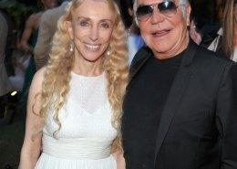 Roberto Cavalli with Franca Sozzani