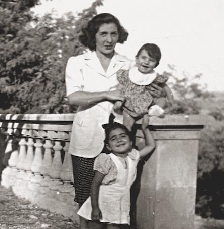 Marcella con Roberto e Lietta Cavalli