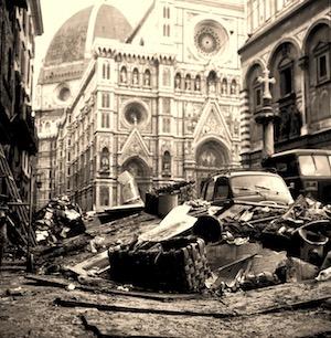 1966 - l'alluvione di Firenze