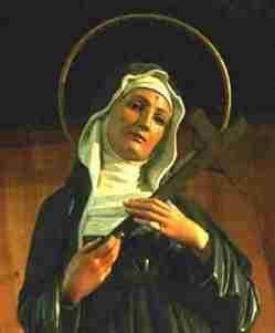 Santa Rita de Cássia olhai por nós!!!