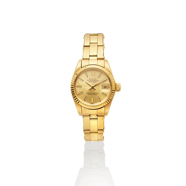 Rolex Lady Datejust ref 6917 anni 70 in oro giallo 18 carati
