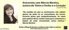 Conheça mais sobre a autora. Link para entrevista: http://migre.me/fT4Yf