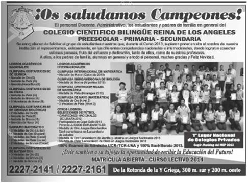 Colegio Científico Bilingue Reina de los Ángeles a pesar estar declarado como CERRADO sigue operando y tiene una deuda con nuestra Seguridad Social de 114 millones