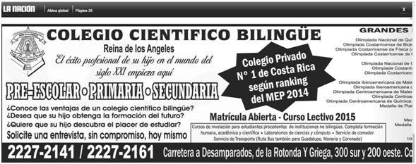 Fernando Zepeda, del Colegio Cintífico Bilingue Reina de los Ángeles (costado Sur Parque de la Paz) sigue burlándose de las autoridades de la CCSS, adeuda 267 millones y….