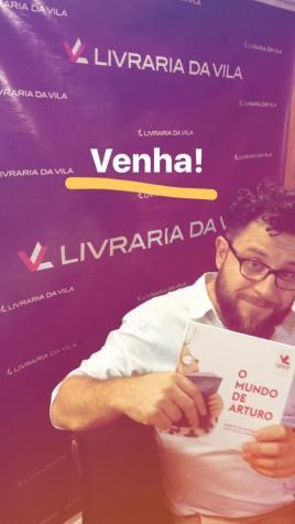 Presentazione di O Mundo de Arturo alla Libreria Da Vila