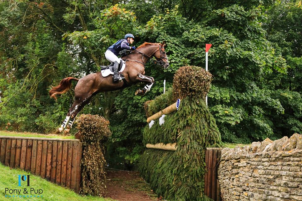 Roberto Rotatori e Castlerichmond SRS Cross Country Blenheim International Horse Trials 2017 UK