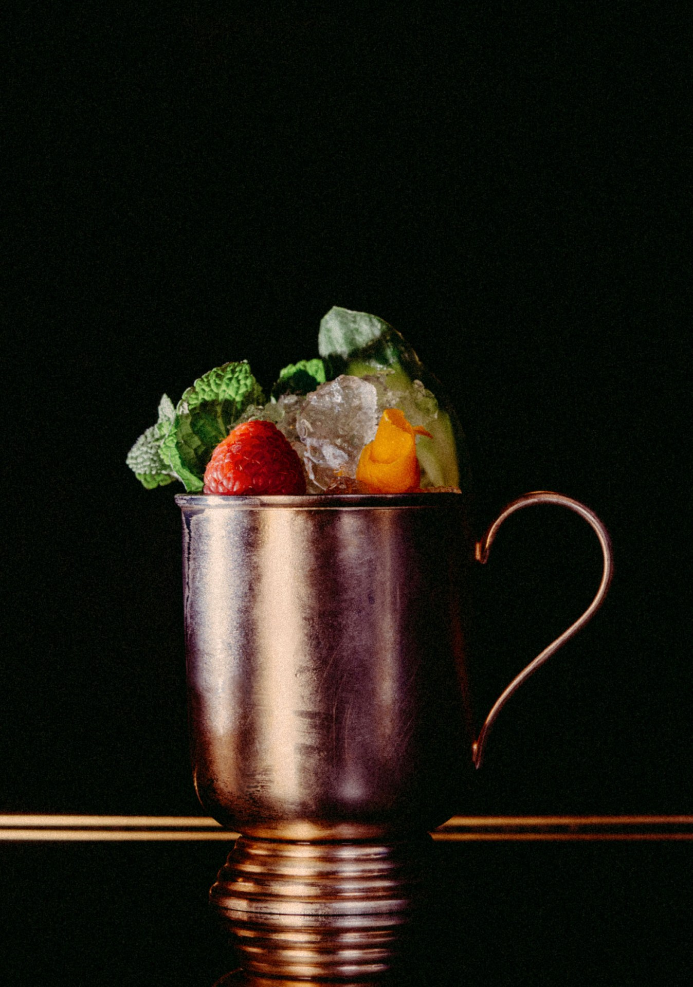 Recipe: 4cl Pimm's Cucumber Lime Filled with Perrier-Jouët Brut