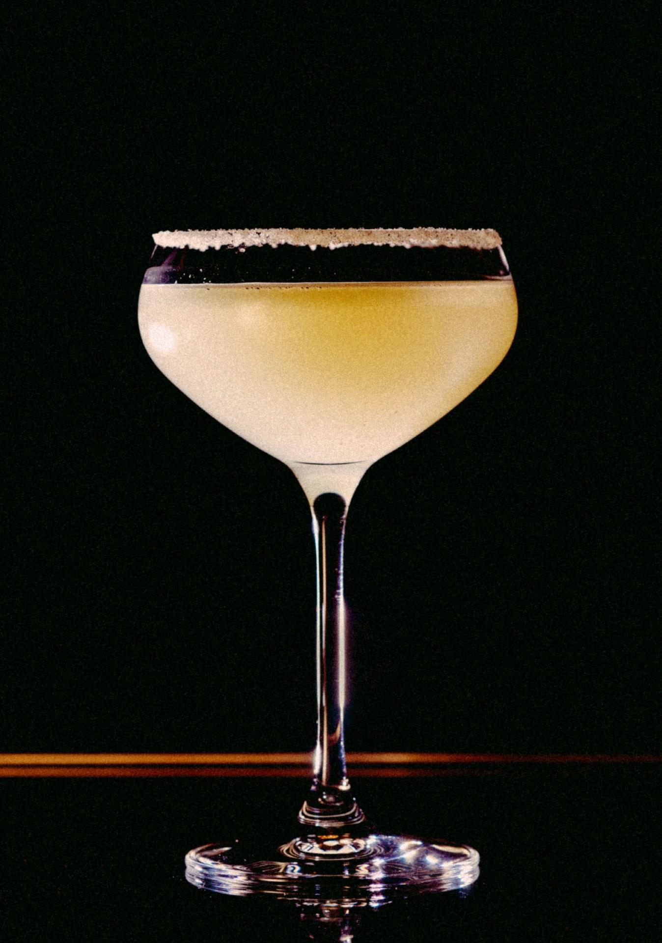 Recipe: 5cl Olmeca Altos Plata 2.5cl Cointreau 2cl Lime Juice Salt Rim