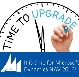 time to upgrade NAV 2016