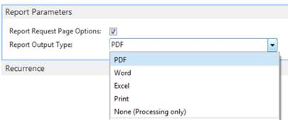 "How to"" print reports to PDF and send email – Roberto"