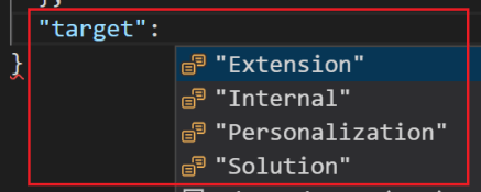 ExtensionTargetLevels