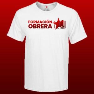 camiseta formación obrera