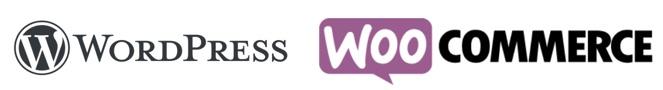 WordPress-WooCommerce-logos