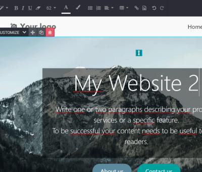 odoo multi web site