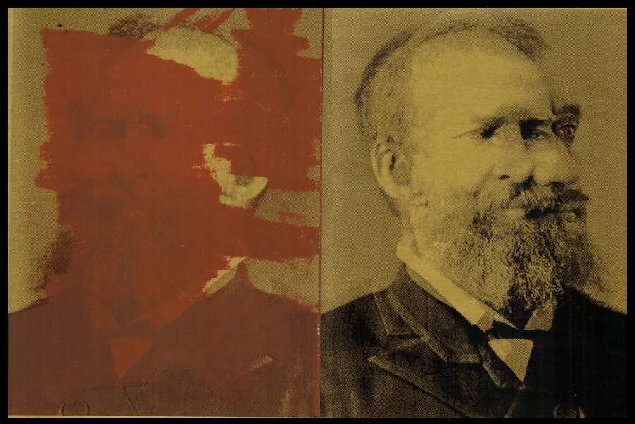 Robert Pierosh, Untitled Garfield (from Assassination Portraits)