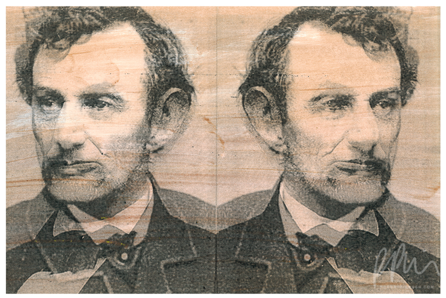 Untitled Lincoln (from Assassination Portraits)