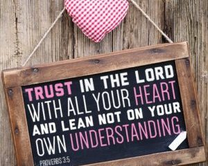May 29 – Trust in You