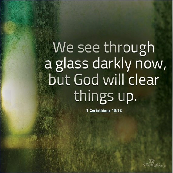 September 18 – Seeing Clearly
