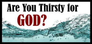 October 2 – I am so Thirsty