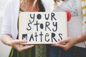 October 8 – Telling My Story