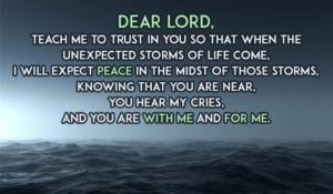 November 9 – Prayer Can Be Comforting