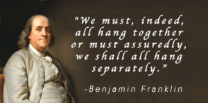 February 26 – Hang Together or Hang Seperately