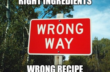 June 5 – Right Ingredients, Wrong Recipe