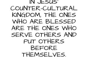 Sept 30 – Serving: Others Before Self