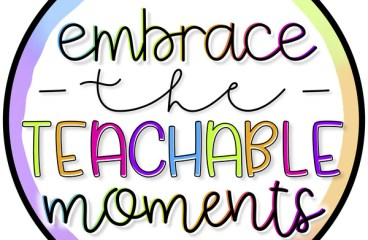 Nov 30 – Never Miss A Teachable Moment