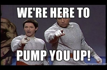 Nov 21 – We're Here To Pump You Up