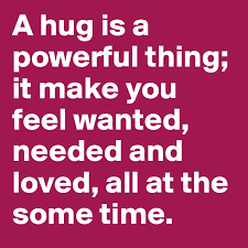Dec 13 – A Hug Is Powerful