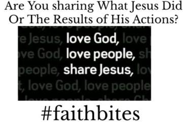 Sep 24 – Sharing Jesus