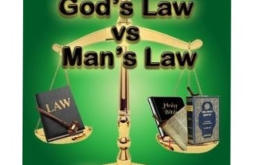 Sep 21 – God's Law or Man's Law?