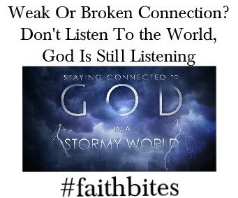 Weak Connection to God?