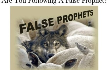 Nov 23 – False Prophets