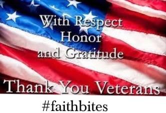 Nov 11 – Thank You, Veterans