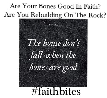 Bones are good