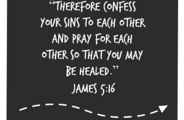March 12 – All Sins Are Bad. Confess and Be Healed