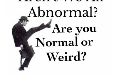 March 18 – Abnormal? We All Are!