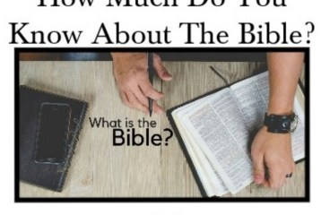 April 21 – What Is The Bible?