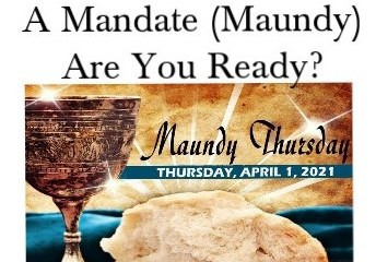 April 1 – Monday Thursday? No, Maundy Thursday