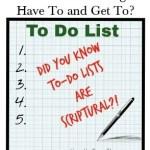 July 31 – Making a List