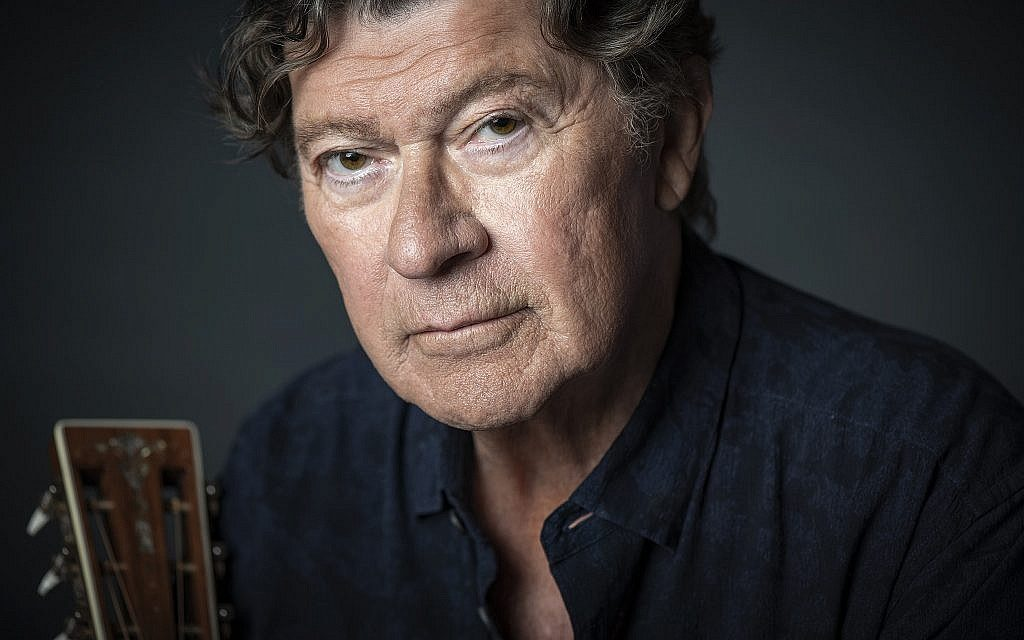 Guitarist and performer Robbie Robertson. (Don Dixon)