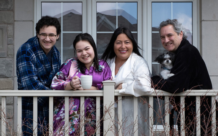 The Kemper Family, photographed by Elliot Sylman, April 2020.