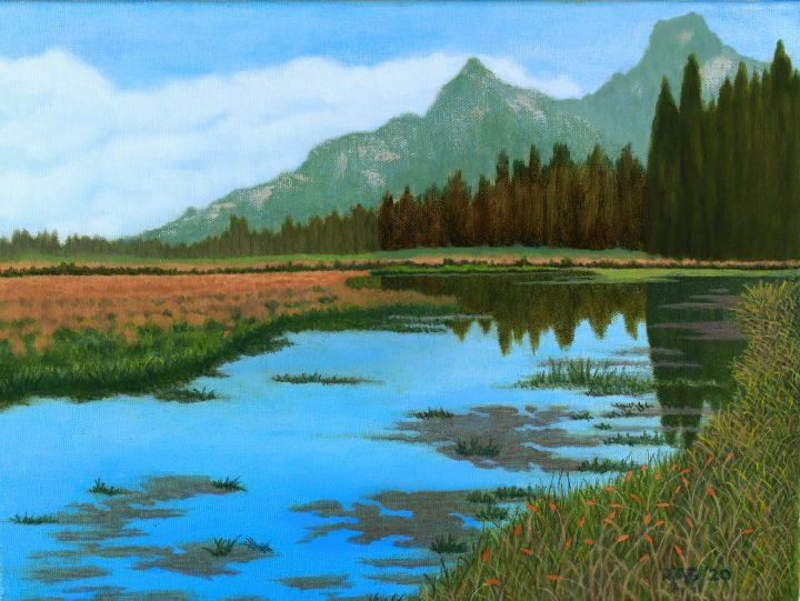 Swan Lake, GTNP edited