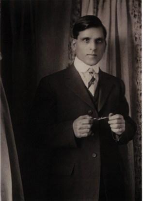 Efisio Simola in Trinidad circa 1917