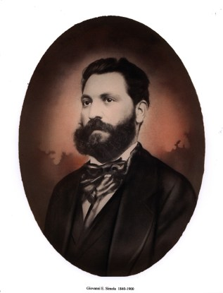 Giovanni Simola circa 1885 in Sardinia at 45 years old