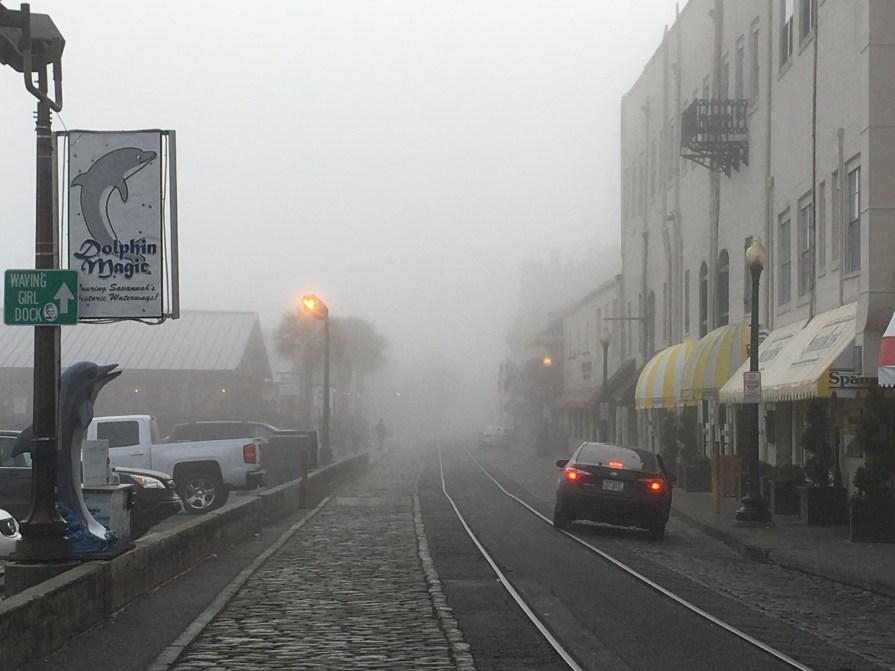 River Street fog