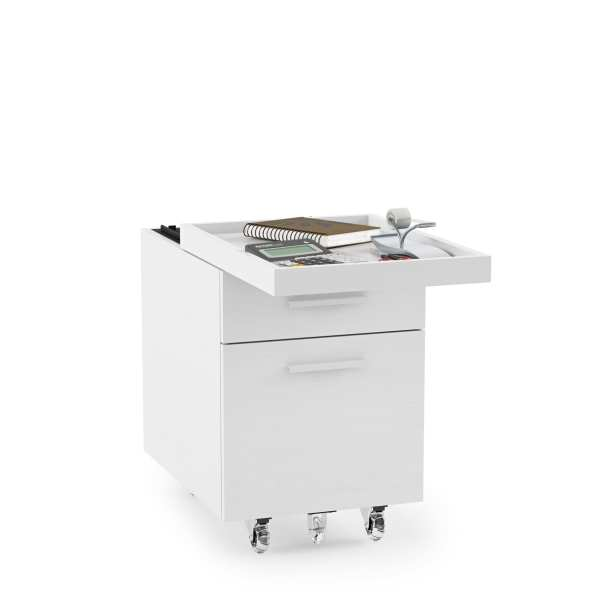 Centro Office File Cabinet 6401 White 1